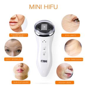 Mini Hifu Yüksek Yoğunluklu Odaklanmış Ultrason Cilt Bakımı Yüz Kaldırma Kırışıklık Kaldırma Güzellik Makinesi Taşınabilir Ev Kullanımı