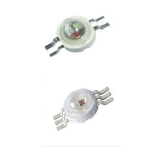 السلطة العليا الصمام رقاقة 3W RGB 4 دبوس برايت كثافة SMD COB ضوء باعث مكون ديود 3 لمبة مصباح W الخرز DIY الإضاءة