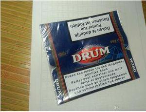 Marca BRITÂNICA Cigarro CAIXA Tabaco pacote folha âmbar Tabaco Cigarettes tabaco 500g = 10 pack / lot pugilistas de plástico tambor mão tabaco pago