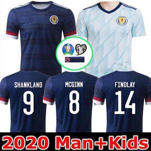 Man and Kids 2020 SCOTLAND SOCCER JERSEYS HOME BOBERTSON 2 FRASER 11 ARMSTRONG 18 BURKE 9 CcGREGOR 10 FORREST 7 19 20 Джерси футбольные майки