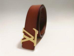 The fashion leisure smooth buckle belt width is 3.8 cm menluxury beltdesigner beltbrand1LLV belt 1Ltrend