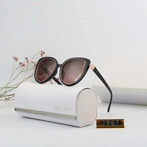 Gafas de sol de lujo Lentes de sol gafas de sol de marca Fashiom Sunglasse para las mujeres UV400 de cristal con 5 Estilo 2019 nueva