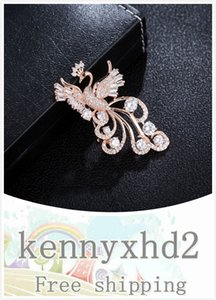 New high-grade Phoenix zircon Brooch women's pin overcoat with fashionable and noble accessories