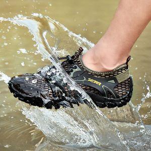 Chiang 2.020 homens 39s Caminhando Carregadores Camo Sneakers impermeável para escalada ao ar livre Trekking Sports trabalho tático Shoes