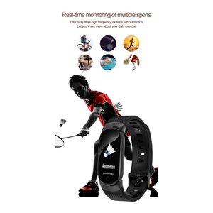 QW16 الذكية للياقة سوار المقتفي شاشة ملونة ضغط الدم رصد معدل ضربات القلب المرأة ووتش لفون سامسونج xiaomi