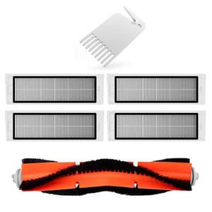 Aspirare Spare Parts Kit Per XIAOMI Robot Aspirapolvere Filtro HEPA rullo spazzola per la pulizia Moci strumento 6 pc / insieme