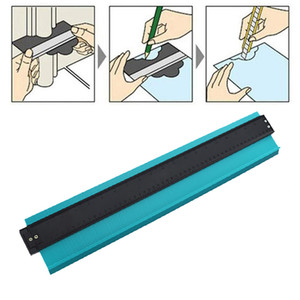 20 pulgadas plástico perfil copia medidor contorno medidor duplicador estándar madera marcado herramienta baldosas laminado azulejos herramientas generales # T20G