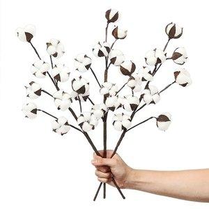 3 팩 21 인치면은 농가 장식 꽃 호텔 상품 줄기 - 소박한 스타일 꽃병 필러 장식 꽃을