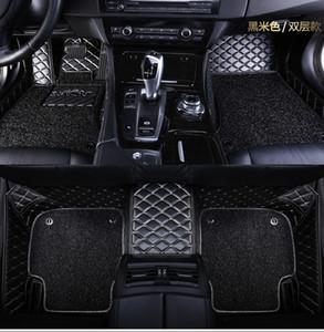 Alfombrillas personalizadas para Mitsubishi Lancer Galant ASX Pajero sport V73 V93 3D car styling revestimiento de piso alfombrado