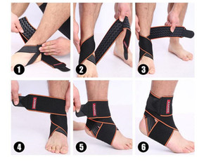 One Piece Sports Safety Ankle Support Running Basketball Fútbol Protección Foot Vendaje Elástico Vendaje Ankle Guard