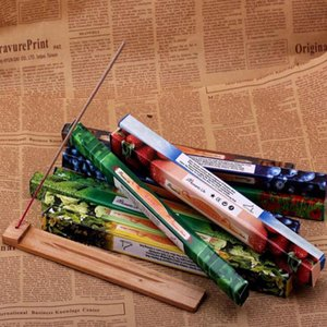 مزج اللون أزياء اليدوية دارشان دخان البخور عصا البخور البخور العصي متعددة 8PCS العطر = 1 صندوق صغير DHL