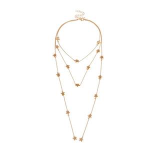 Sexy Ожерелье Jewelry Star Элемент личности Модные Бизнес Предметы украшения Best-продажа ювелирных изделий Бесплатная доставка