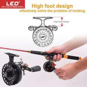 LEO New HOT Fishing coil DWS60 4 + 1BB with High Foot Fishing Reel Professional Metal Left/Right Hand Reel