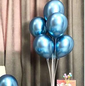 50 piezas de 12 pulgadas metálico de látex globos de juguete del cabrito del niño de la boda del impulso del aire Moda decoración de alta calidad del aire caliente de la venta Bolas