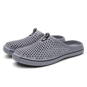 2019 Shoes Summer Beach Slipper Sport Clog per gli uomini di secchezza rapido piatto oversize Outdoor sandali Maschio giardinaggio morbida Pantofole 15