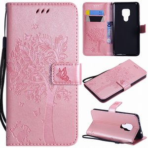 Capa For iphonePhone 11 Pro Max Cat Tree Cover For apple SE 2020 XR X XS 6S 7 8 Plus Cute Leather Case 5C 5S Touch 5 6 Flip Bags E06F