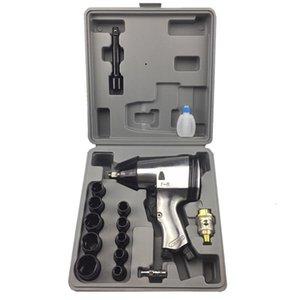 1/2 pulgadas destornillador del aire comprimido rueda Perno de rueda Shell aire de impacto llave neumática desmontaje viento del arma Mejoras