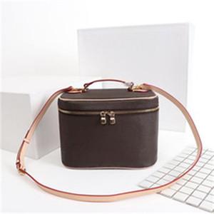 Designer-Kosmetiktasche Frauen Alte Blumen bilden Beutel Designer-Beutel-Modedesigner-kosmetischer Beutel Handtaschen Schulter-