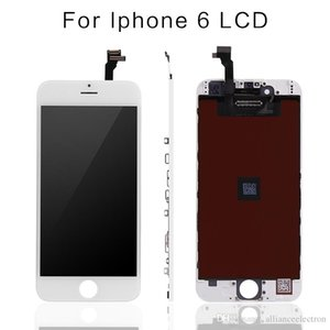 Grade A +++ LCD Display For iPhone 6 Touch Digitizer Complete Screen with Frame Full Assembly Replacement For iPhone 6 Plus