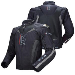 Призрак гонки мотоциклов куртка Мотоцикл езда куртки ветрозащитный всего тела Защитное снаряжение Доспех Осень Зима Мото Размер одежды M-3XL