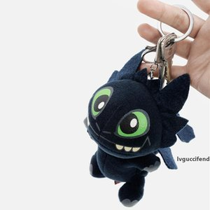 Large 6.7inch How To Train Your Dragon Toys Plush Pendants Toy Toothless Night Fury Plush Doll Women Bag Pendant Keyring DH1163 T03