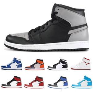 Avec Box haute qualité 1 Top 3 Jeu Royal Blue Basketball Chaussures Hommes Femmes Cour Violet Pin vert du blé noir ombre Chicago de sneakers de