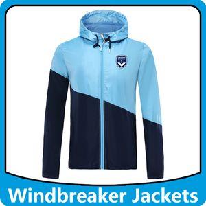 futebol Bordeaux blusão Hoodies Sports revestimentos encapuçados, Bordeaux Hoodie Windbreaker Windproof homens futebol casaco de Inverno Corrida Casacos