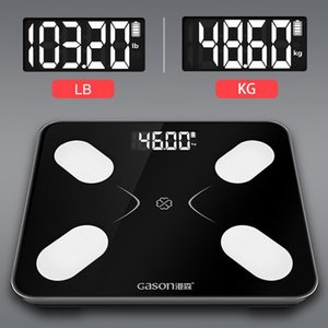 S3 Body Fat Scale Floor Scientific Smart Electronic LCD Digital Weight Bathroom Balance Bluetooth APP Android or IOS Y200106