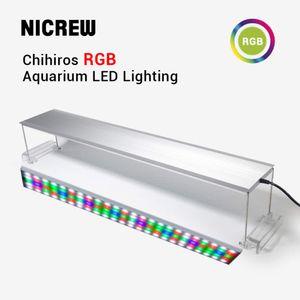 NICREW Chihiros RGB-Serie LED-Beleuchtungssystem Pflanze wachsen Licht Aquarium Wasserpflanze Aquarium Multi Farblichter
