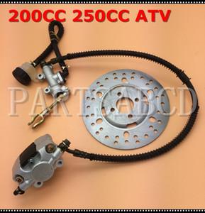 200CC 250CC ATV Quad Foot freno hidráulico Caliper disco del freno de disco Assy 200cc 250cc piezas de ATV Quad