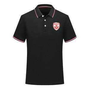 2020 estate nancy nuovo stile del cotone della camicia di polo di calcio a manica corta bavero polo polo di calcio maglia da allenamento della camicia da uomo Polo uomo