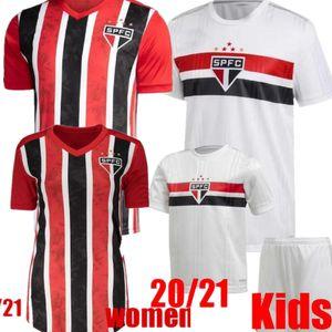 DANI ALVES PATO 20 21 Sao Paulo Jersey away black red Soccer 2020 Hernanes LIZIERO Club Home white football shirt GOLEIRO