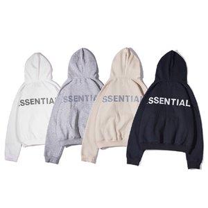 Frauen der Männer Modedesigner Hoodies Begrenzte 3M Reflective Essentials-Printing Sweatshirts Hip Hop Männlich Weiblich Pullover Tops