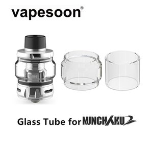Sostituzione del tubo di vetro di quarzo per Be 'Nunchaku 2 Serbatoio 5ml atomizzatore Fit NUNCHAKU 2 Kit Mod