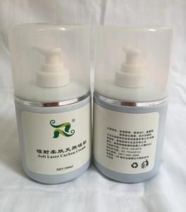 300 ml per flacone Soft Laser Carbon Cream gel per nd yag laser black doll trattamento di ringiovanimento della pelle cura Crema al carbone attivo