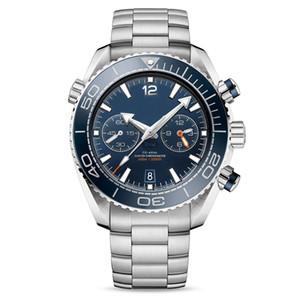 2020 hommes U1 montres mouvement complet en acier inoxydable Japon VK64 5ATM montre-bracelet chronographe étanche Montre de luxe