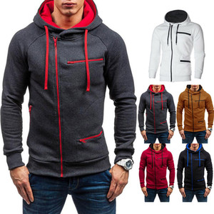 2019 New Outdoor Men's Warm Hoodie Hooded Sweatshirt Coat Jacket Outwear Jumper Winter Sweater Free shipping