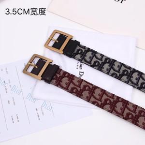 Di 2019 novo cinto das mulheres com cintos de couro importado para as mulheres carta d imagem costura cintos de strass largura: 3.5 cm