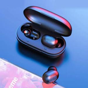 원래 마일 Youpin Haylou GT1 프로 TWS 꽃 봉오리 화이트 HD 스테레오 Bluetooth5.0 이어폰 지문 터치 미니 무선 이어폰