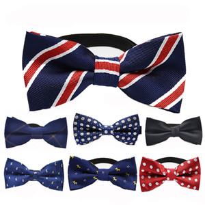 Enfants Enfants Pré Tied Fête de mariage Bow Tie Filles Garçons formelle Tuxedo satin nœud papillon cravate 55 couleurs de Noël bébé cadeau C1919