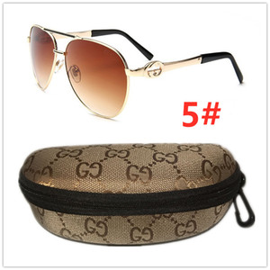 Multicolor gold frame Luxurious G Sunglasses for men women Sunglasses driving beach Holiday L̴V UV400 sun glasses Gu̴cci gift