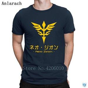 Neo Zeon Symbol T-Shirts Sunlight Clothes Anti-Wrinkle Designing Tshirt For Men Family Euro Size S-3XL Anlarach Novelty