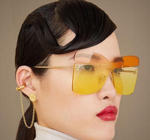 Nuevo 0399 del diseñador para mujer del ojo de gato de la moda gafas de sol del sencilla generosa gafas de protección UV400 calidad superior estilo más vendido