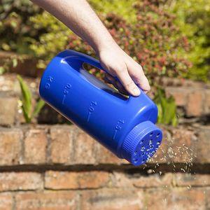 Handle Hand Held Flower Seeder Adjustable Hole Size Gardening PE Fertiliser Grass Lawn Seeds Spreader Plant Insect Repellent