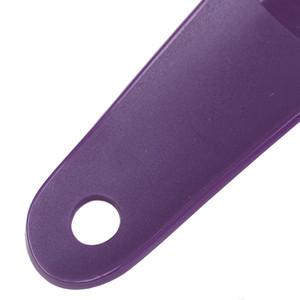 16 centímetros O plástico colorido Shoehorn Shoe Horns Colher Professional flexíveis Lifter sapatos Sapatos Acessórios 2pcs