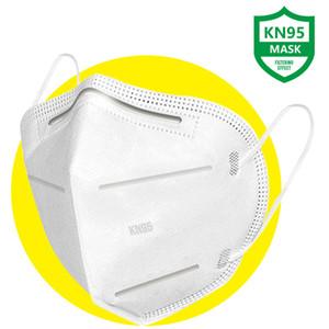 Großhandel 5 Schicht KN95 Gesichtsmaske Mascherine Maschera Maske Máscara Masque Masken Einweg-Gesicht Protect Gesundheit Ihrer Familie 10 PC-Maske