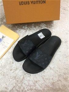 2020 son klasik moda deri flip flop terlik sandalet erkek kadın ayakkabıları terlik sandalet boyutu 35-45 RA52 unisex