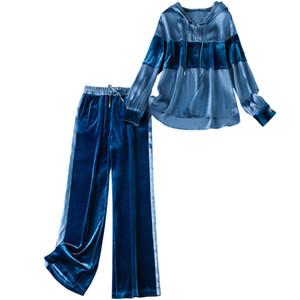 Brand New joint moda vestito a due pezzi cappuccio da donna 81% -90% dacron e il 10% -29% spandex colori uno secondo una vendita