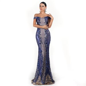 Formal Evening Dresses 2019 Ever Pretty New MermaidShort Sleeve with Appliqué Lace and Tulle Long Evening Dresses Soiree