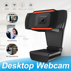 Webcam 480P 720P 1080P Full HD Web Camera Streaming Video Live Broadcast Camera With Stereo Digital Microphone In Retail Box